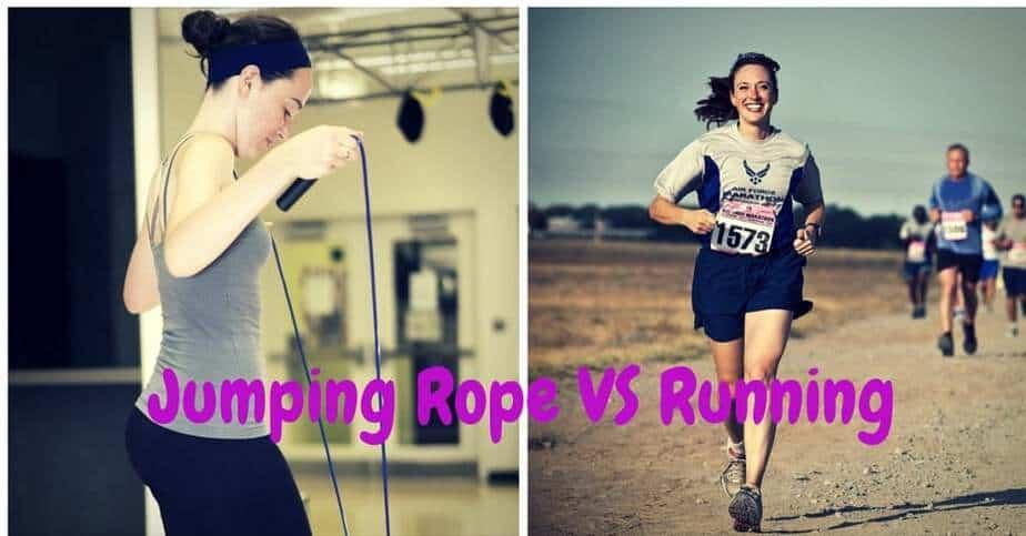 Jumping Rope VS Running