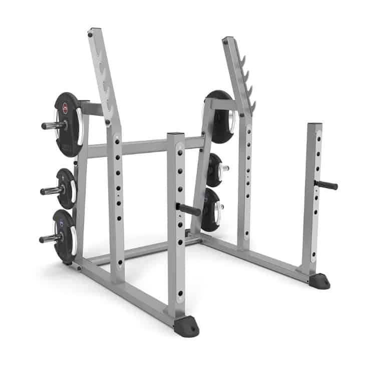 an example of a stable squat rack