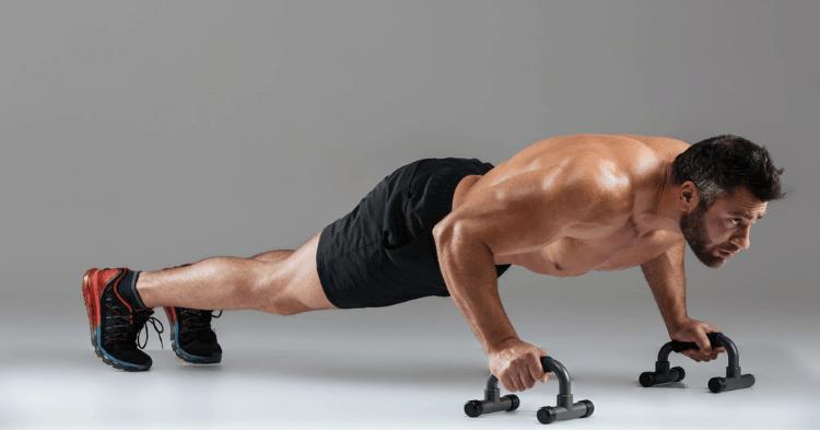 push up bars benefits