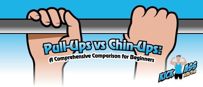 Pull Ups vs Chin ups blog header