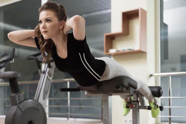 hyperextension bench exercise