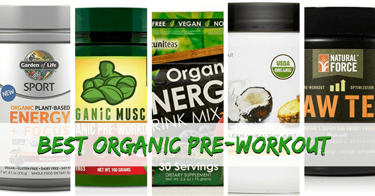Best organic pre workout supplements