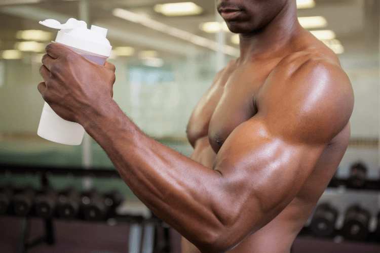 using pre workout in gym