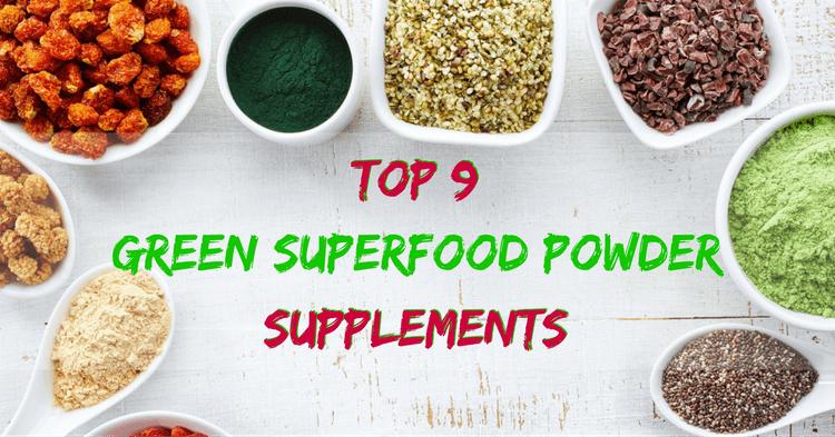 Best Green Superfood Powder Supplements