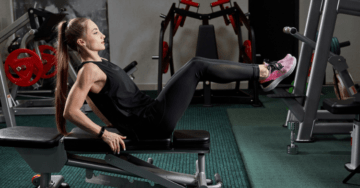 weight bench exercises for abs