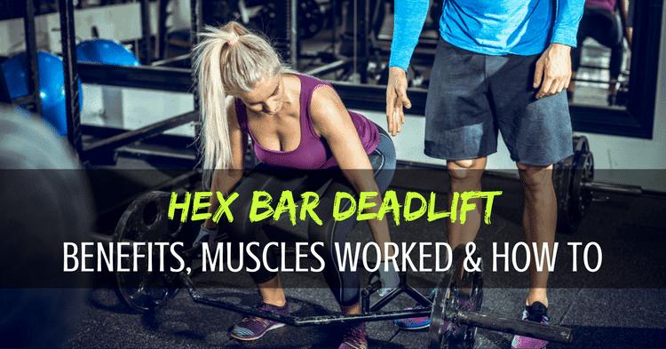 hex bar deadlift