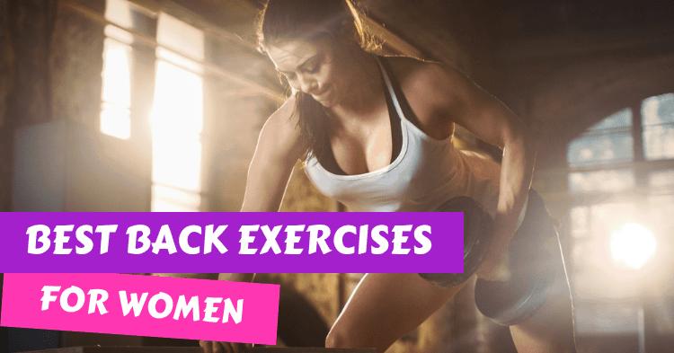 best back exercises for women
