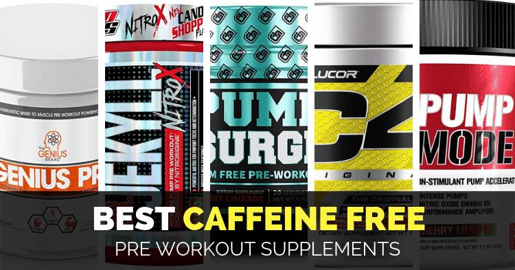 best caffeine free pre workout