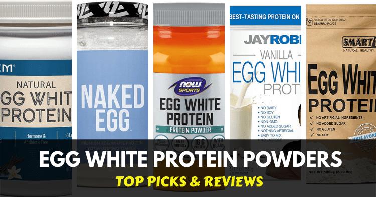 best egg white protein powders