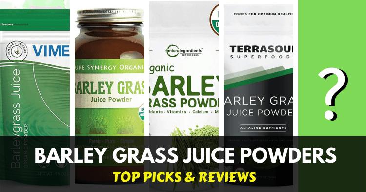 list of best barley grass juice powders
