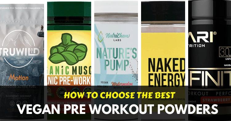 best vegan pre workout powders