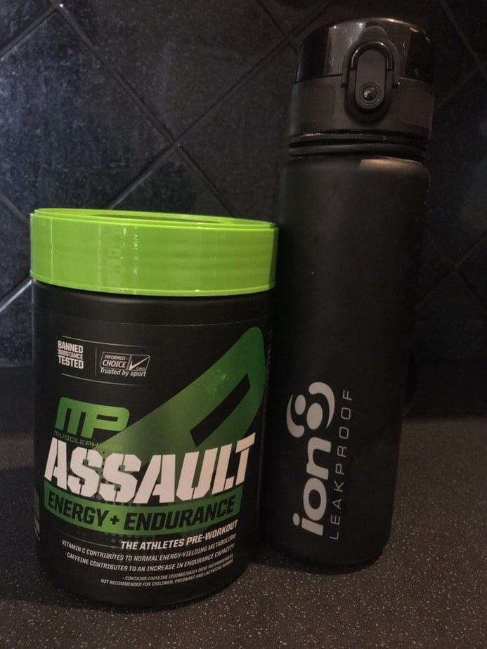assault pre workout review