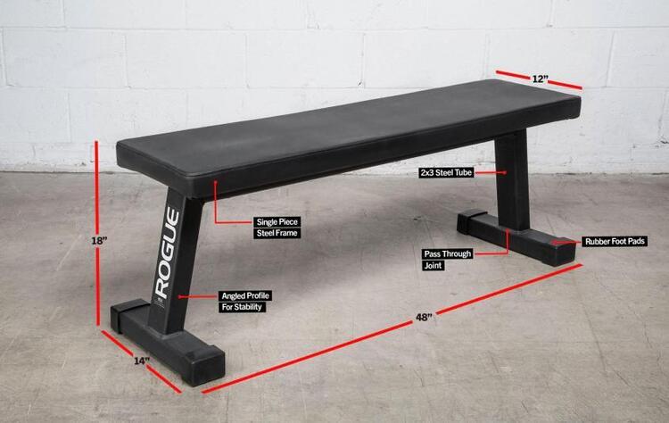 Rogue Flat Utility Bench