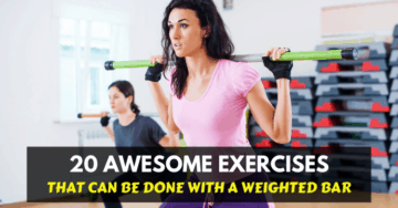 weighted bar exercises