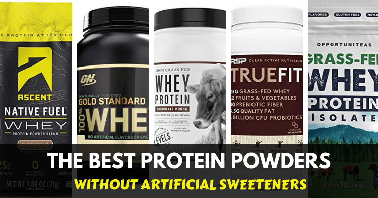 best protein powders without artificial sweeteners