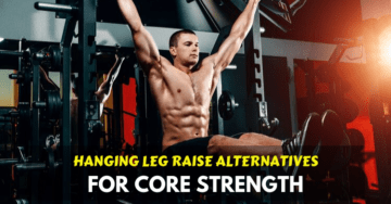 hanging leg raise alternative exercises