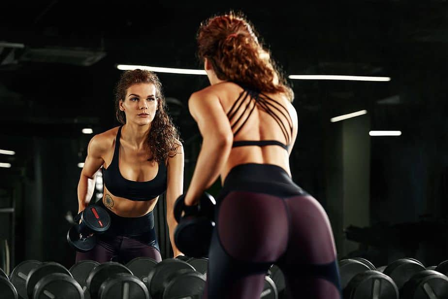Tricep workouts with dumbbells