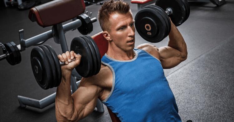 shoulder superset workout