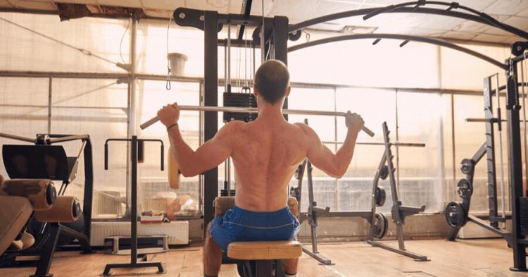 lat pulldown machine exercises