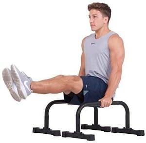 Body Power Non Slip Parallettes