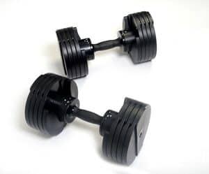 Core Fitness Adjustable Dumbbells