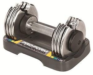ProForm 25 lb Adjustable Single Dumbbel