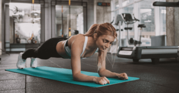 prevent back pain when planking